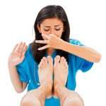 Effective ways to get rid of smelly feet