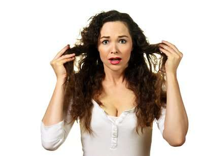 Getting Rid Of Frizzy Hair