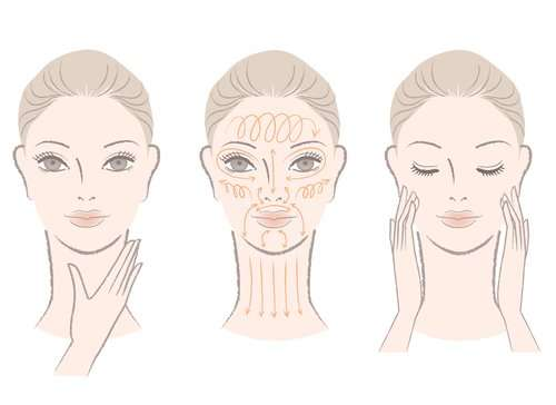 Learn Here At Home Facial Massage Steps For Wrinkle Free Glowing Skin