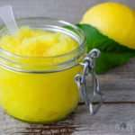 Homemade Lemon Face And Body Scrub