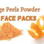 Orange Peel Face Mask For Tightening And Glowing Skin