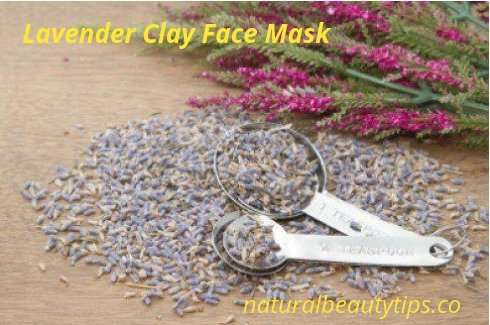 DIY Lavender Clay Mud Face Mask
