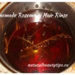 Homemade Rosemary Hair Rinse Recipe
