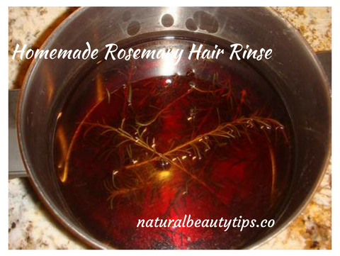 Rosemary Herbal Rinse For Shiny And Strong Hair