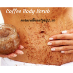 coffee scrub body