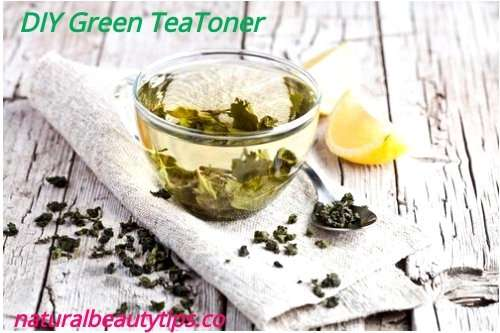 How To Make Green Toner For Oily Acne Prone Skin