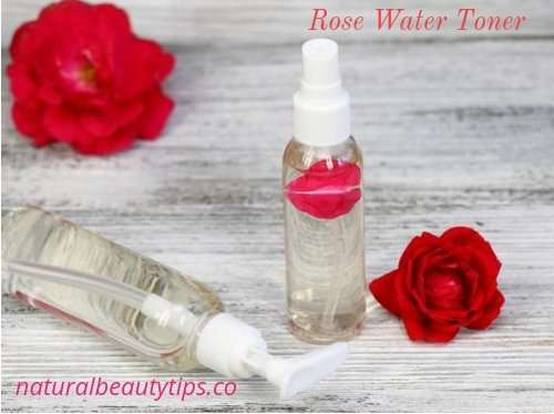 DIY Dry Skin Rose Water Toner