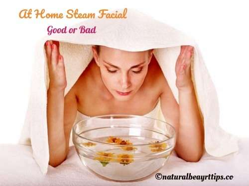 Is At Home Steam Facial Good For Your Skin