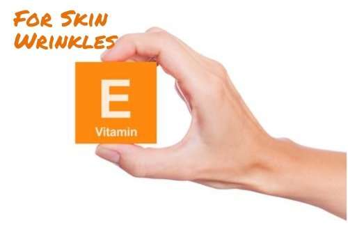 Vitamin E For Skin Wrinkles
