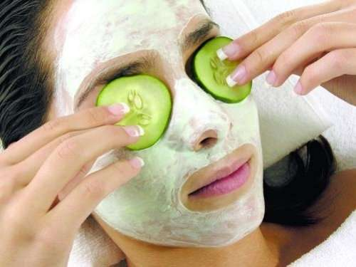 Homemade Cucumber Face Mask For Wrinkles Natural Beauty Tips