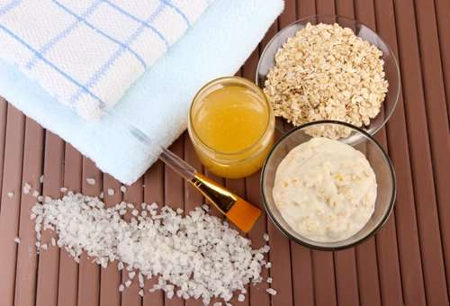 Natural Facial Scrub For Dry Skin