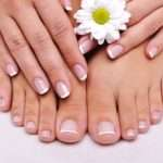 Pedicure With Epsom Salt