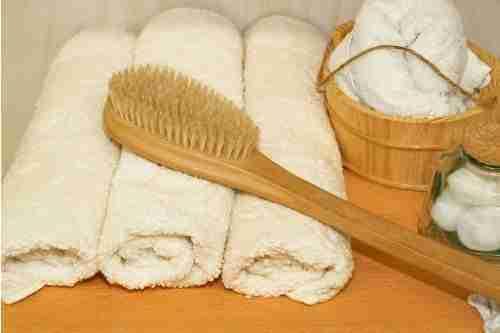 Skin Dry Brushing