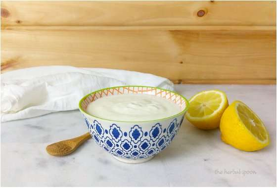 Yogurt Lemon Facial Mask