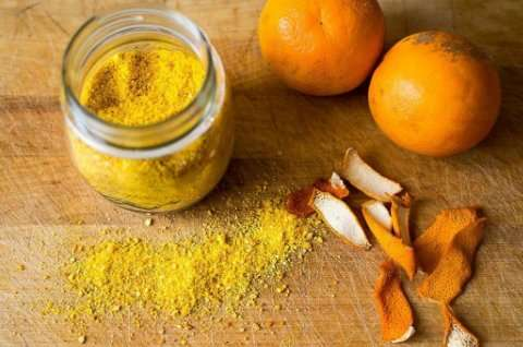 How To Make Orange Peel Powder At Home