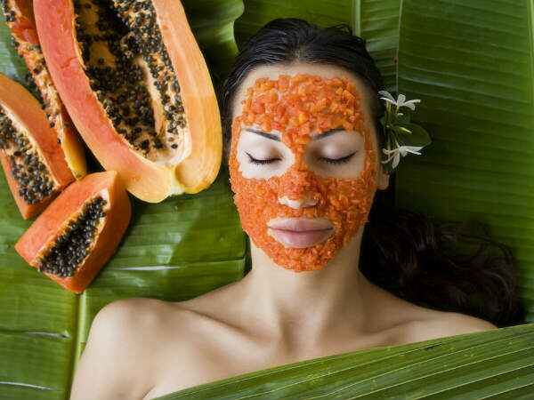 Papaya For Glowing skin
